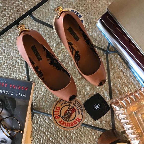 b8baa1e5fc2c Louis Vuitton Shoes - Louis Vuitton Platform Heels